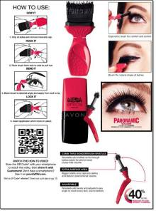 The newest mascara, Avon Mega Effects