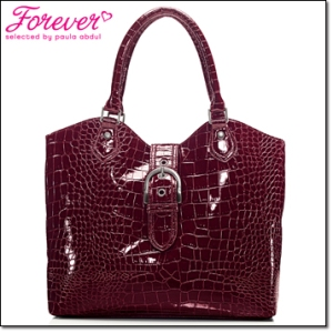 Cranberry purse